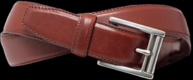 Ralph Lauren Roller Buckle Brown Belt